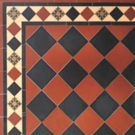 Winckelmans напольная плитка в викторианском (английском) стиле для кухни или ванной (керамические ковры)