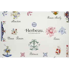 HERBEAU плитка с цветочным декором для кухни и ванной комнаты в стиле прованс