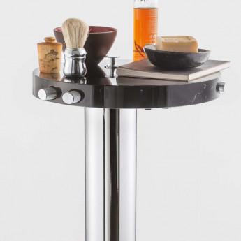 Marmo Ib rubinetterie напольный смеситель для ванны в виде столика с мраморной столешницей