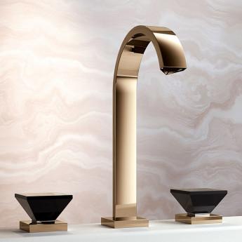 Empire Royal CRYSTAL Jorger смесители для ванной с ручками моно кристаллами в современном стиле премиум уровня