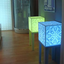 светильник из искусственного камня