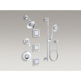 Forte Kohler Комплект встраиваемой душевой системы премиум уровня