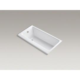 Highbridge Kohler Встраиваемая чугунная ванна в нишу 152х81 см, белая, кремовая