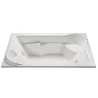 Siesta 1 MTI ванна акриловая премиум 200х121см встраиваемая с гидро- аэромассажем (или без него) H55 см