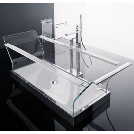 СНЯТО! прозрачная ванна из стекла i Cristalli Novellini