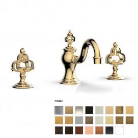 COURONNE элитный смеситель для ванной в форме короны, хром, никель, бронза, латунь, золото, белый, черный