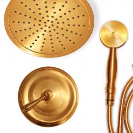 Встраиваемая душевая система в неоклассическом стиле матовое золото в наличии Phylrich