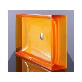 Regia juke box раковина прямоугольная накладная 70х40см из цветного стекла