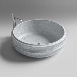 BURLESQUE SIGN Ванна круглая из мрамора 176 см