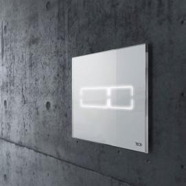 TECElux Mini панель смыва с сенсорным управлением белая/черная