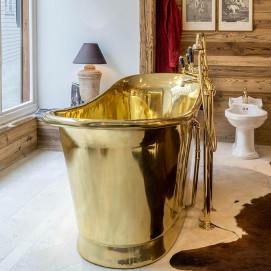 Traditional Bathrooms ванна медная овальная свободностоящая 1500х660mm / 1700х690mm / 2000х800mm