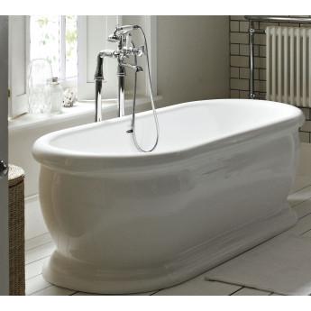 HELEN Traditional Bathrooms массивная ванна овальная свободностоящая в английском стиле