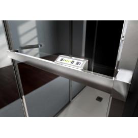 Душевая стенка из стекла - стеклянный радиатор Vismaravetro