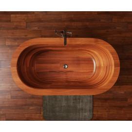 Karolina 2 отдельностоящая деревянная ванна
