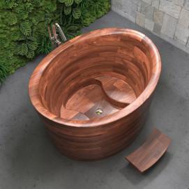 True Ofuro сидячая деревянная ванна в японском стиле