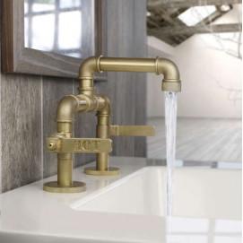 Elan Vital Watermark элитные смесители для ванной комнаты в стиле лофт хром золото никель бронза латунь