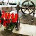 WHEEL смеситель для кухни в классическом стиле с вытяжным душем (хром, никель, золото, бронза)
