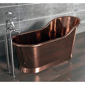"Slipper Bath William Holland ванна из меди ""туфелька"" 1600х700 мм"