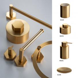 Geometric Windisch аксессуары для ванной нео ардеко матовое золото