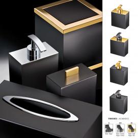 BLACK Windisch аксессуары для ванной комнаты в современном стиле черный хром золото