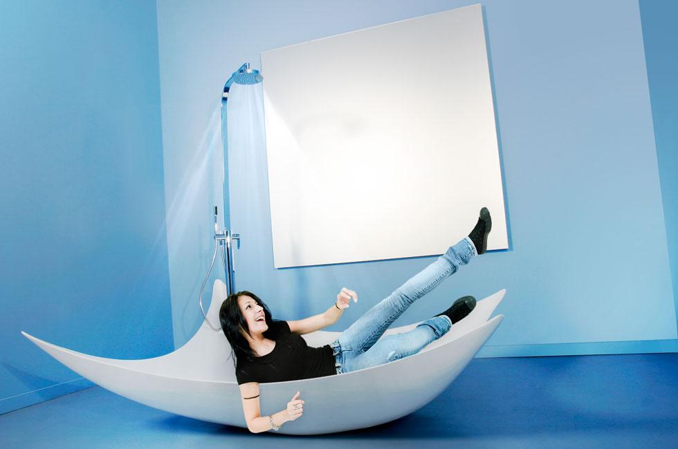 дизайнерские ванны