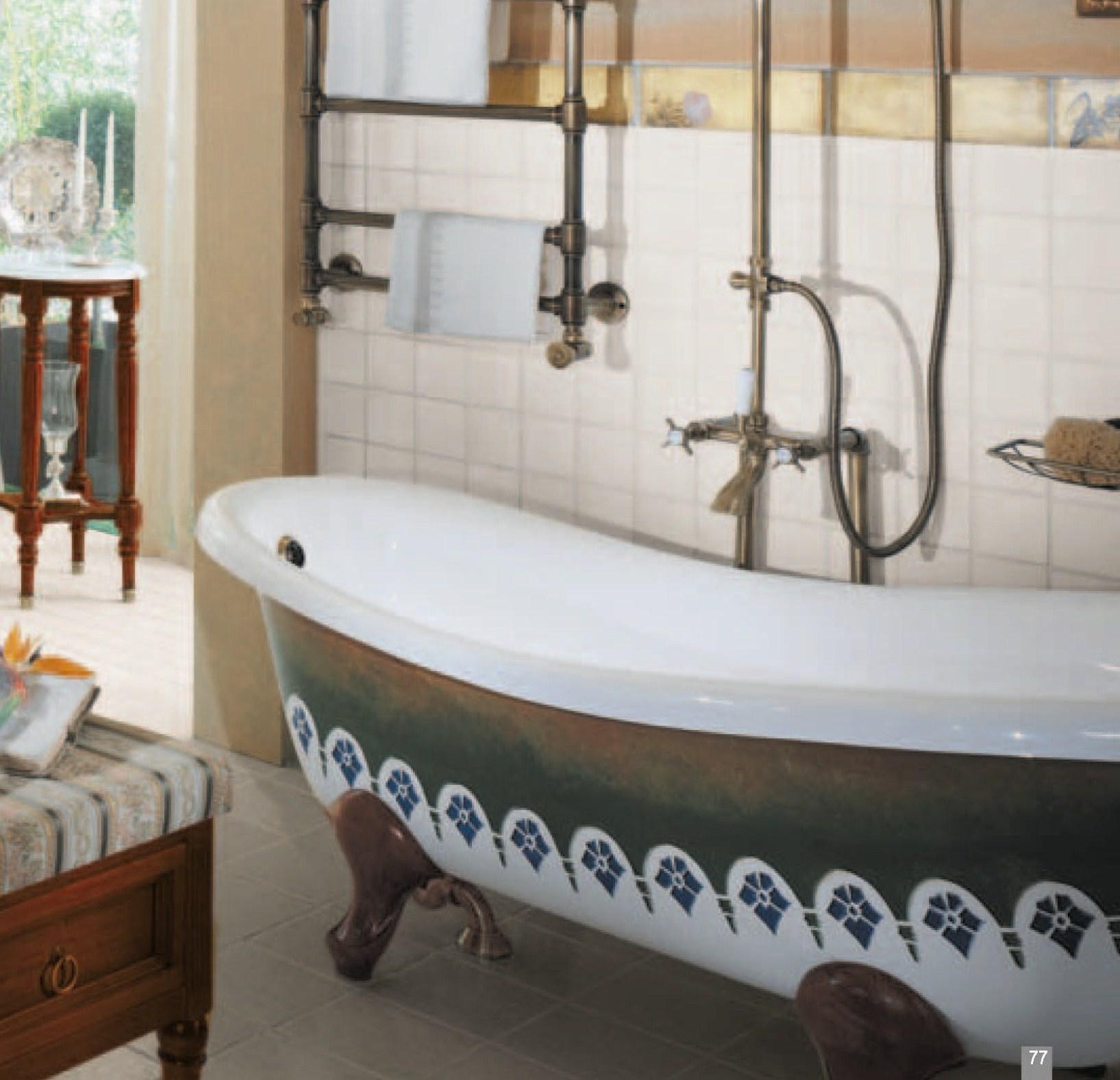 Декор акриловых ванн