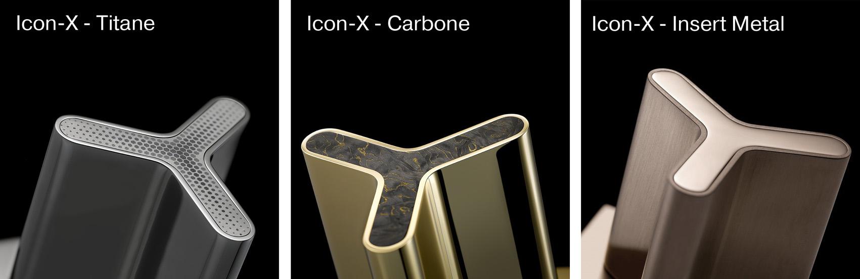 Icon-X THG Paris смесители для ванной автомобильный дизайн Porsche Design